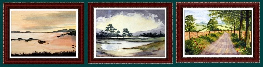 Watercolor Painting - Landscape paintings - watercolour seascapes - Artwork by Allansart